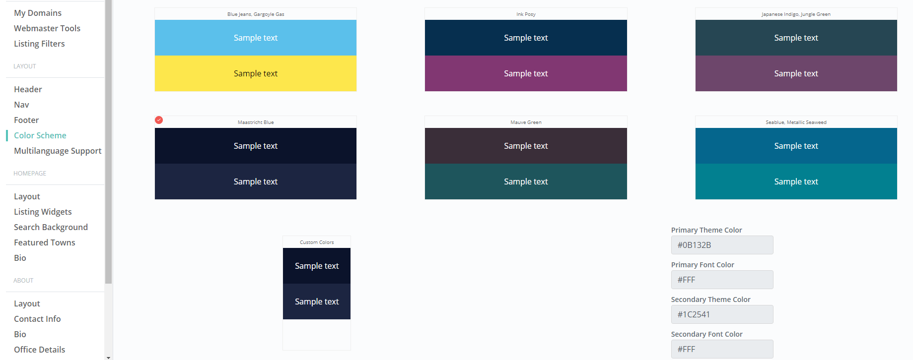 How to Update the Color Scheme - Elm Street Technology ...